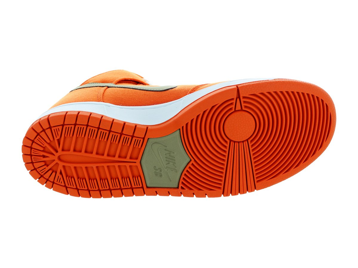 Nike Heren Dunk High Pro Sb Skate Schoen Zwart / Zwart / Wit 12 D (m) Ons