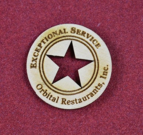 100 Custom''Good Job'' Wooden Tokens-Laser Engraved-for Teachers-Bosses-Award Incentive-Personalized