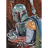 Buffalo Games Star Wars Photomosaic Boba Fett, 1000-Piece Jigsaw Puzzle