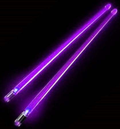 Purple Light Up Drumsticks Firestix Amazon Co Uk Musical Instruments