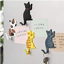 Cute Cat Magnet Space Magnet Cute Magnet Cat Magnet Fridge Magnet Cubicle Decor Kawaii Magnet Cute Cat Kitty in a Rocket