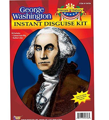 Kids George Washington Costumes Kit (F54706/192 George Washington Kit)