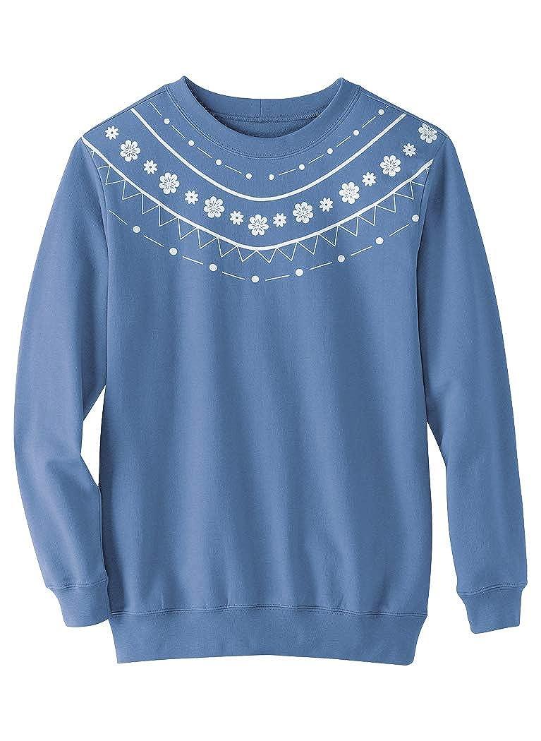 AmeriMark Print Sweatshirt