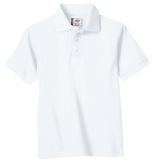 15e9b494f Amazon.com: Dickies Little Boys' Short Sleeve Pique Polo Shirt ...