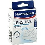 Hansaplast Sensitive Strips Pflaster, 40 St.