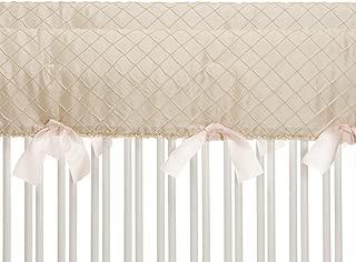 product image for Glenna Jean Contessa Crib Rail Protector, Cream Diamond, Short
