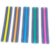Reading Guide Highlighter Strips, Set of 5 (Blue, Orange, Green, Pink and Yellow)