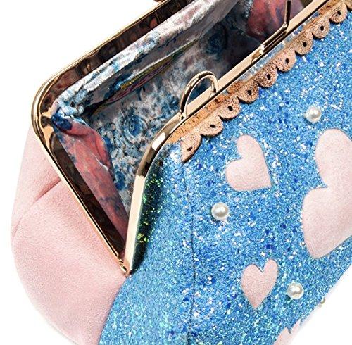 Cupcake a Borse spalla Irregular Donna x L W H cm Blu Blue Choice 13x20x30 Candy wICqqnEB