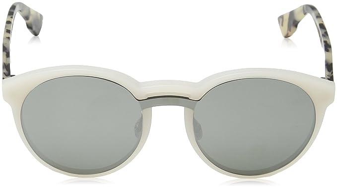 Womens DIORONDE1 0T X61 Sunglasses, Mtwhite Havana/Grey Silver Ar, 99 Dior