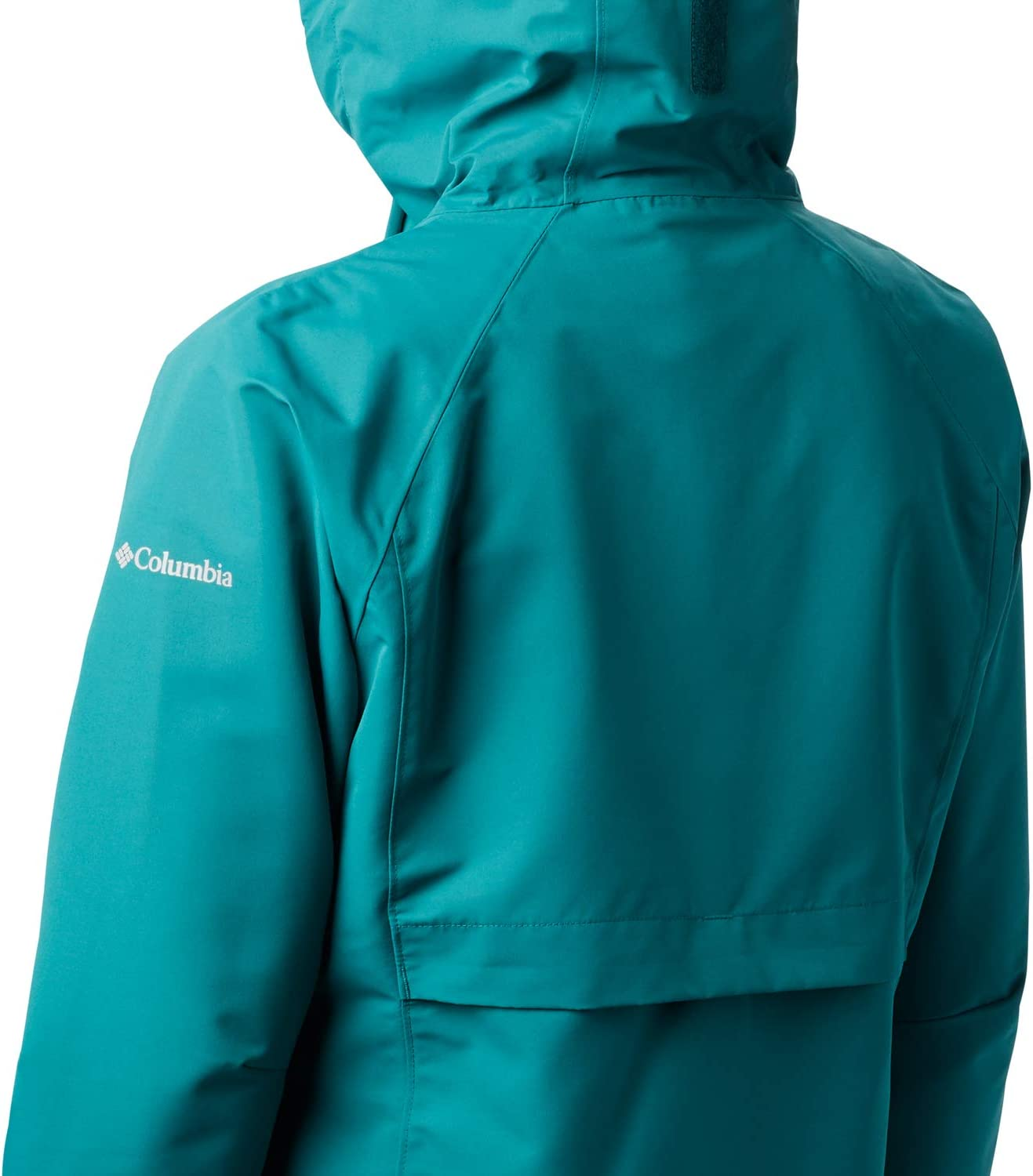 Columbia South Canyon Chaqueta Impermeable Mujer Waterfall L Verde