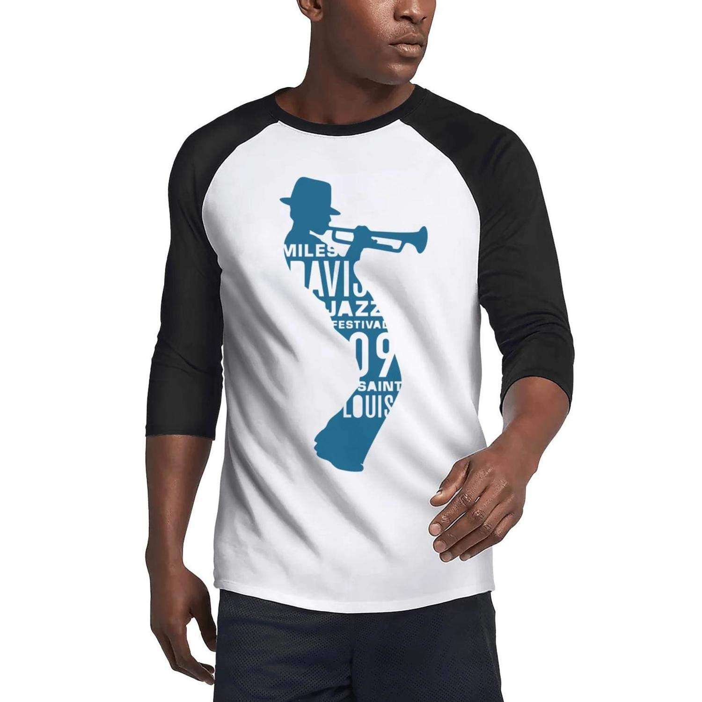 Suitpanre Casual 3 4 Sleeve Baseball Tshirt Rock Band Logo Plain Raglan Shirt 5181