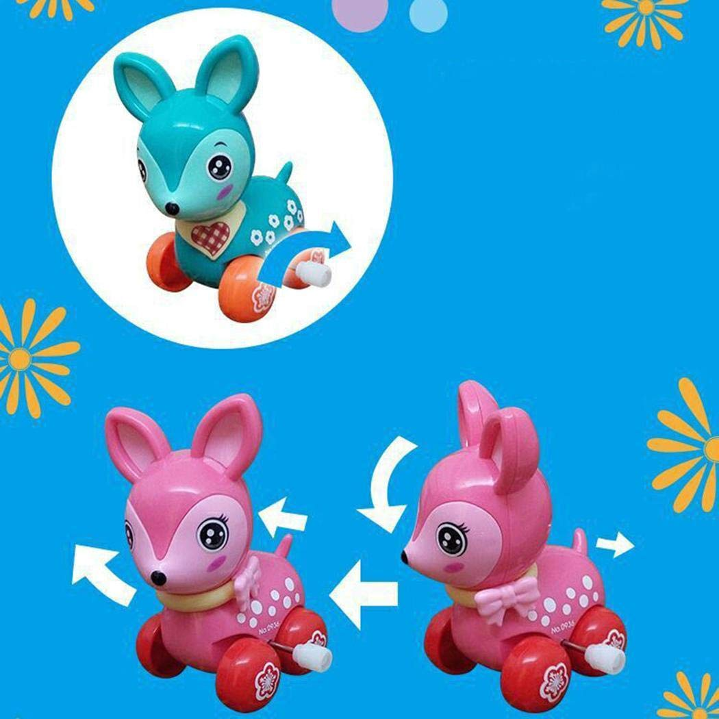 Kizaen 4Pcs Assorted Wind-up Toys Animals for Kids Party Favors Children's Birthdays Gifts by Kizaen (Image #4)