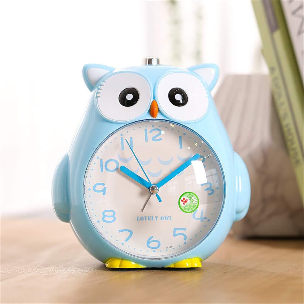 LLHH Casa Decor búho Reloj de Cuarzo Hora de la habitación ...