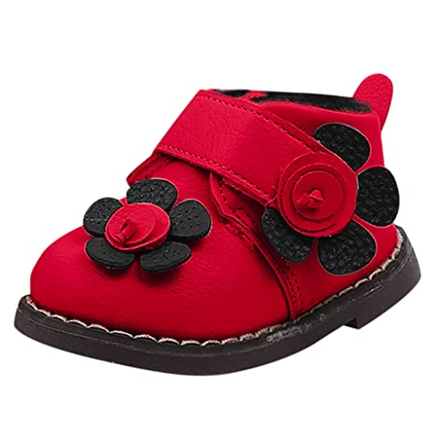 Mitlfuny Invierno Caliente Unisex Botines Zapatos de Cuero para Bebé ...
