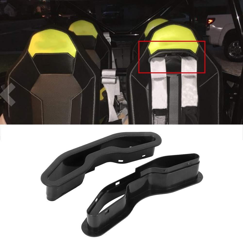 Black ABS Safety UTV Modification Fit for Polaris RZR XP 1000 2014-2019 Harness Pass Through Bezel