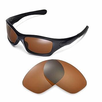 caac943762b Walleva Ersatzgläser für Oakley Pit Bull Sonnenbrille - Mehrfache Optionen  (Braun - polarisiert)