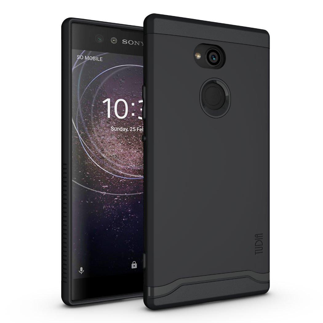 Sony Xperia XA2 Ultra Case, TUDIA Slim-Fit Heavy Duty [Merge] Extreme Protection/Rugged but Slim Dual Layer Case for Sony Xperia XA2 Ultra (Matte ...