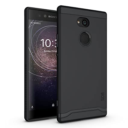 Sony Xperia XA2 Ultra Case, TUDIA Slim-Fit Heavy Duty [Merge] Extreme Protection/Rugged but Slim Dual Layer Case for Sony Xperia XA2 Ultra (Matte ...