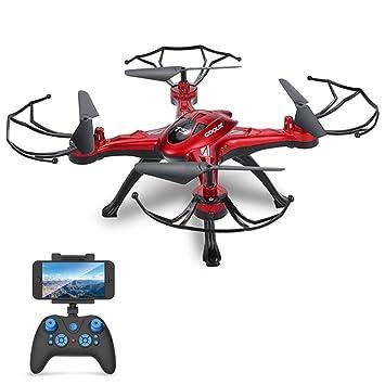 GoolRC Drone con cámara Quadcopter con función de retorno de una ...