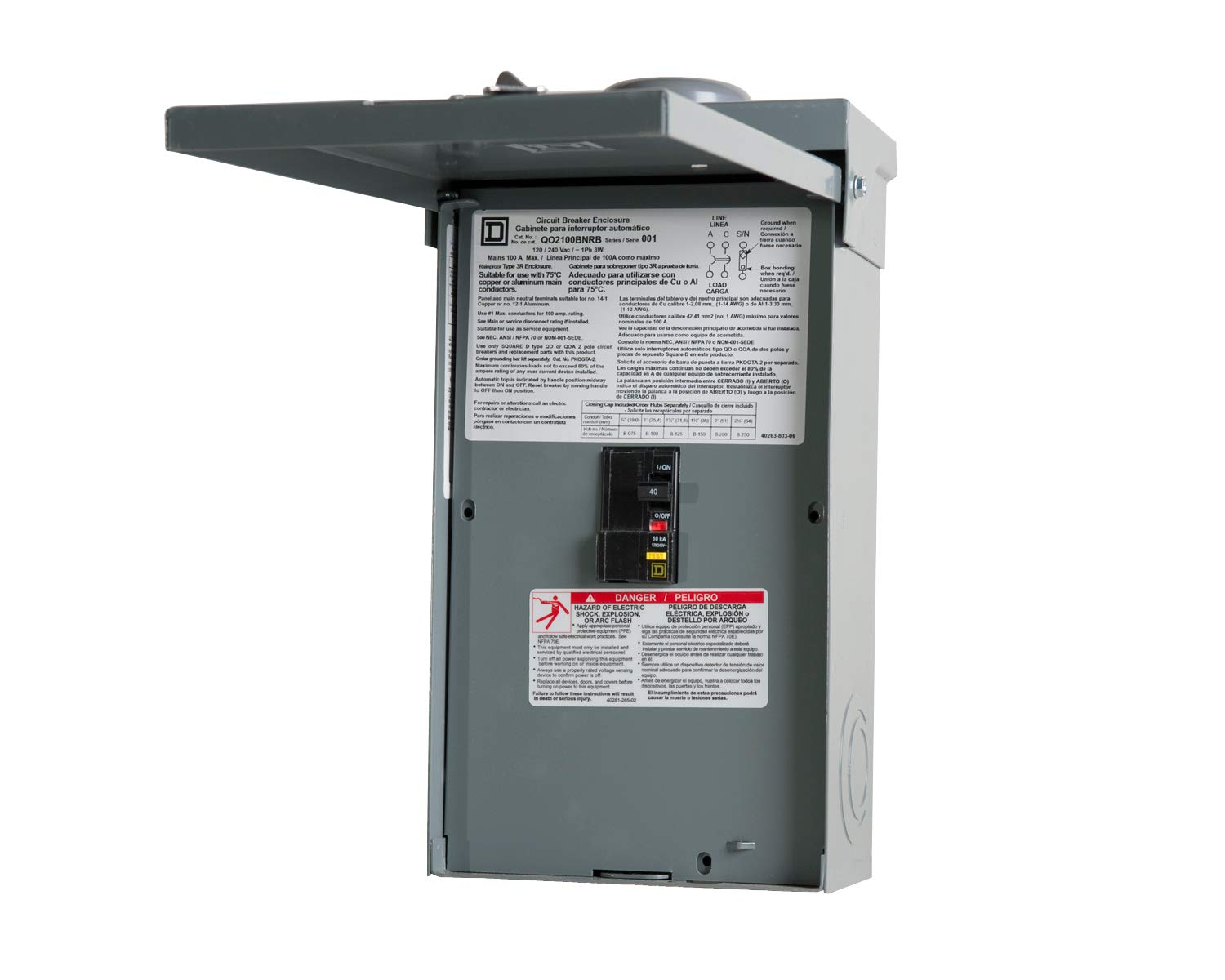 Northern Lights Group Balboa Gfci 40 Breaker And Box Spaguts Spa To 220v Wiring Diagrams Circuit Breakers Garden Outdoor