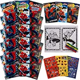 Best Packs Of Crayons Novelties - Set Of 15 Spiderman Play Packs Fun Party Review