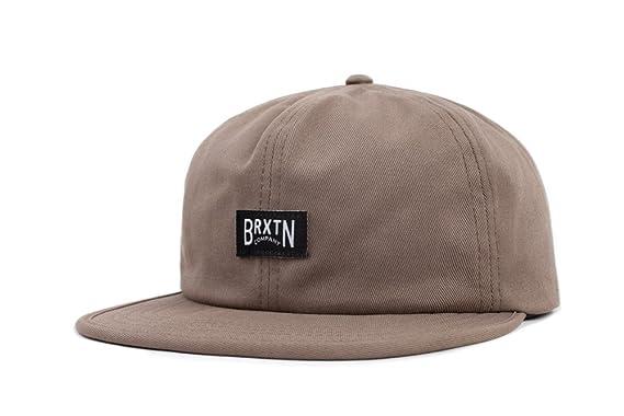 134f6447f3ffa Amazon.com  Brixton Men s Langley Low Profile Adjustable Hat