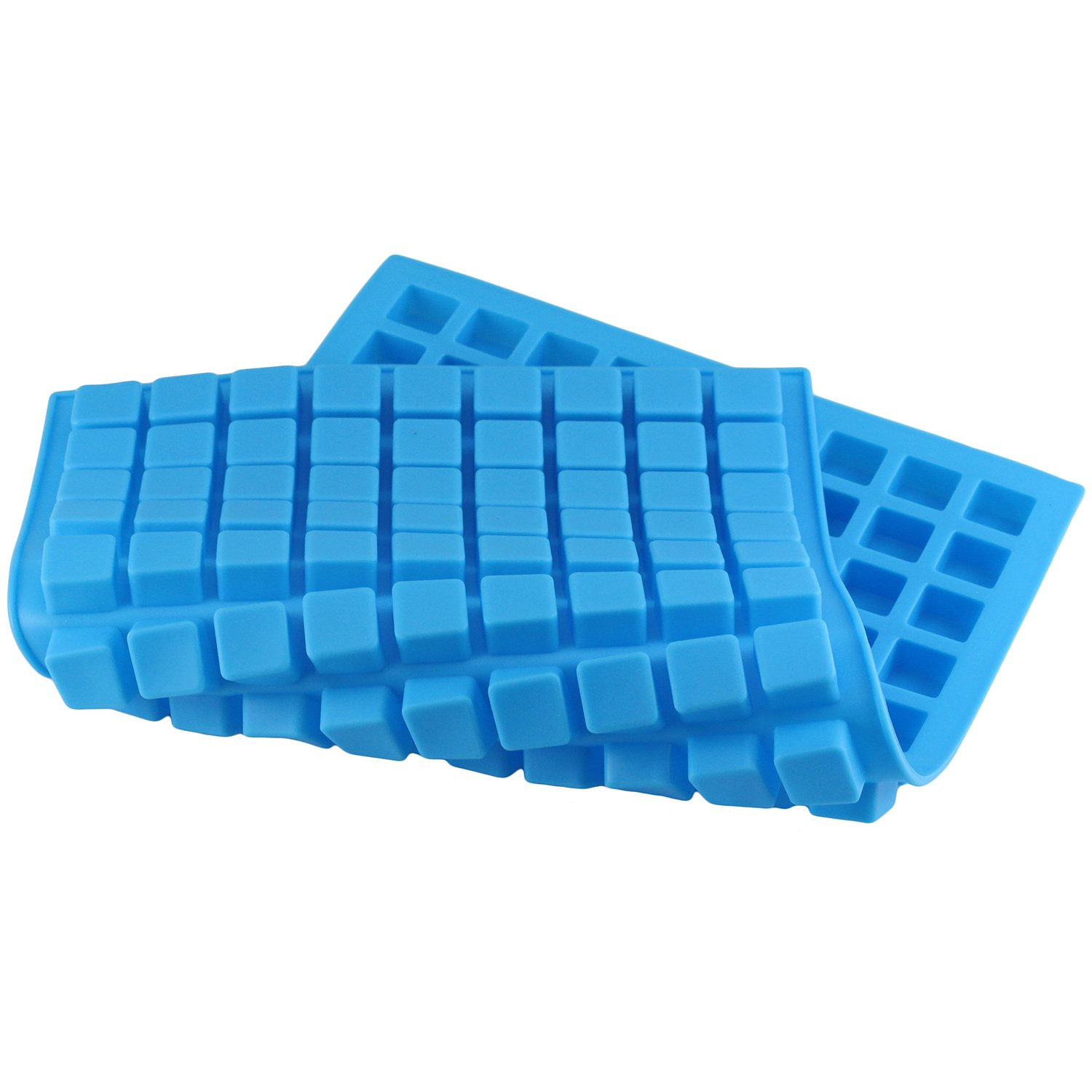 Silicone Molds for Making Homemade Chocolate Candy Gummy Jelly Mujiang 126-Cavity Ice Cube Tray