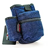 vape pen 35 - Coil Master PBag - Blue Jeans Denim | Authentic Carrying Pouch Belt Innovative Storage Case