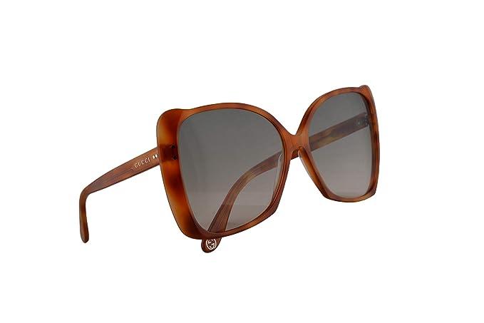 Gucci GG0471S Gafas De Sol Havana Con Lentes Verde Oscuro ...