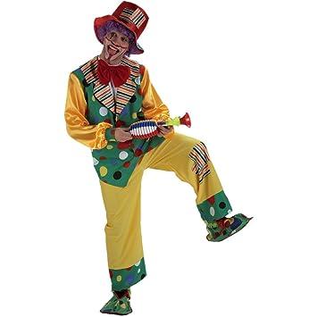 Disfraz payaso topos. Talla 50/52.: Amazon.es: Juguetes y juegos