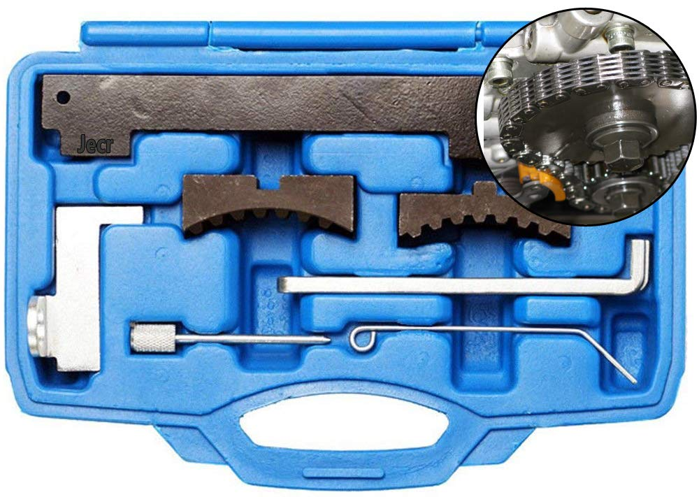 7 Piece Set Fiats and Alfa Romeo Chevy Camshaft Tensioning Tool Kit Engine Timing Locking Alignment Set for Chevrolet