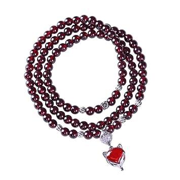 design intemporel 8d703 0c01d Bracelet Bracelet en Grenat Naturel Bracelet Renard en ...