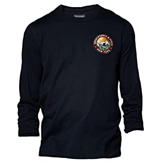 Abercrombie para hombre Logo Graphic camiseta de manga larga T-Shirt