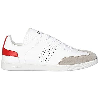 Dior Chaussures Baskets Sneakers Homme en Cuir Blanc EU 44 3SN225XZU ... 103a565d0ad