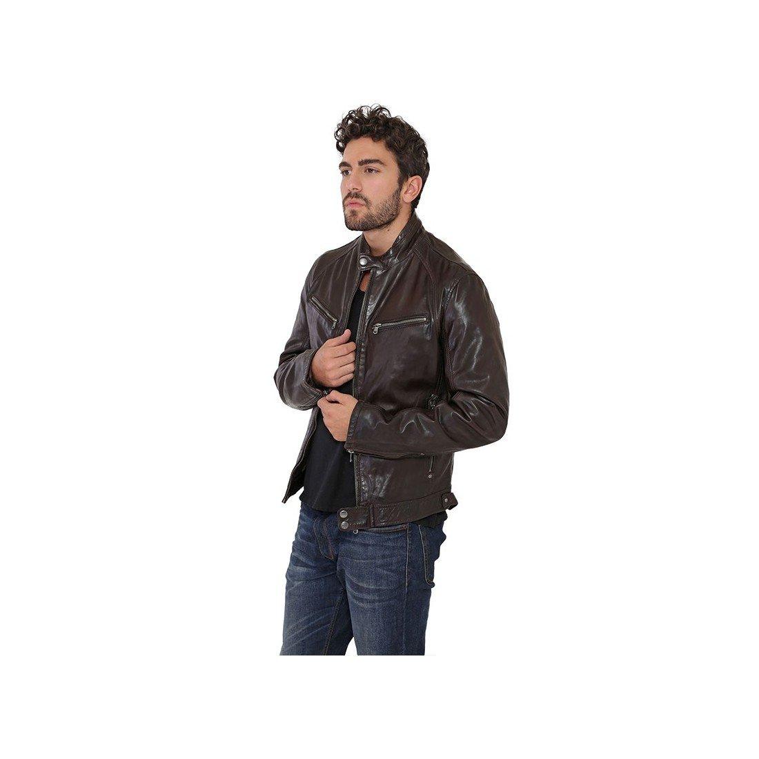 Daytona - Chaqueta - Básico - Manga Larga - para hombre marrón XX-Large: Amazon.es: Ropa y accesorios