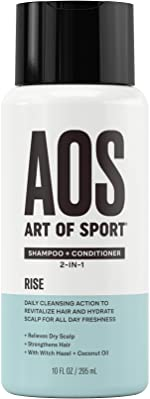 Art of Sport Sulfate Free Shampoo and Conditioner, Rise Scent, Men's