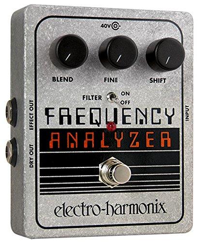 Electro Harmonix 665130 efecto de guitarra eléctrica con sintetizador Filtro Frequency Analyzer