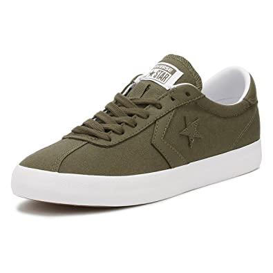 ef1e7820226f Converse Womens Breakpoint Ox Medium Olive White Canvas Trainers 5.5 US