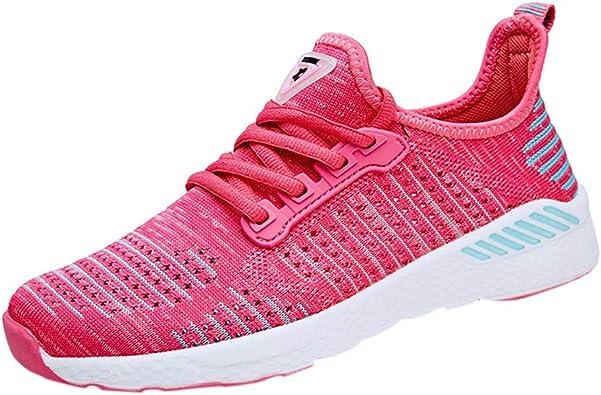 FAMILIZO Zapatillas Mujer Running Zapatillas Deportivas De Mujer Sneakers Women Primavera Moda Mujer De Malla Transpirable Zapatillas Casual Zapatos De Running para Estudiantes: Amazon.es: Zapatos y complementos