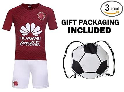 75c17134f Fan Kitbag Club America Club de Fútbol América S.A.de C.V. Men s Soccer  Jersey   Shorts Adult Premium Gift Kitbag ✮ BONUS GIFT Soccer Backpack