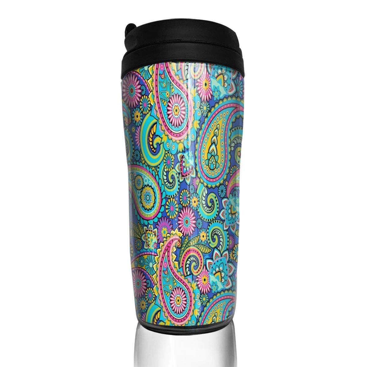 コーヒーカップ パープル パイレーツ スカル トラベル タンブラー 断熱 漏れ防止 ドリンクコンテナ ホルダー トレンディ 12オンス 6.7 x 3 x 2 inch chu-#MYDY95v3Wn4YL 6.7 x 3 x 2 inch カラー3 B07HSR3GG2