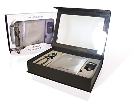 Compra Vin Bouquet Cava Plata FI 049 Set Productos, 30x21x6 cm en ...