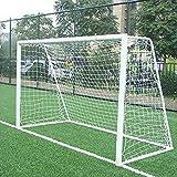 12 x 182,88 cm tamaño completo de fútbol portería de fútbol miniportería de competición deportiva infantil de…