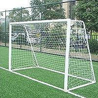 Fanmuran - Red de portería de fútbol de tamaño completo de 3.66 m x 1.83 m para entrenamiento, deportes, jóvenes, juego de equipo en casa