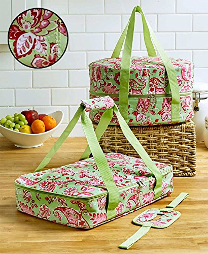 3-Pc. Carrier Sets(Green Paisley)