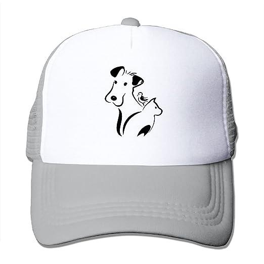 Dog Cat and Bird Men Women Adjustable Snapback Hats Dad Hats ... 56396f7946e