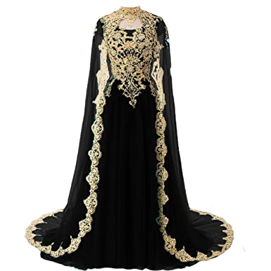 Wedding Black vintage dresses lace
