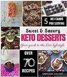KETO DESSERTS: KETO DESSERT RECIPES COOKBOOK, KETO ELECTRIC PRESSURE COOKER COOKBOOK (Keto for beginners)