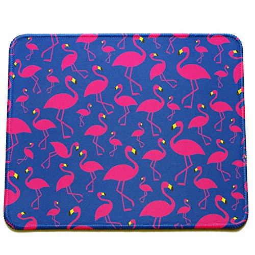 VIVIPOW (TM Pink Flamingos Pattern Rectangle Non-Slip Rubber Mousepad Gaming Mouse Pad