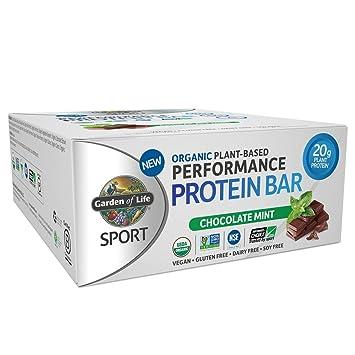 Amazoncom Garden of Life Organic Sport Protein Bar Vegan